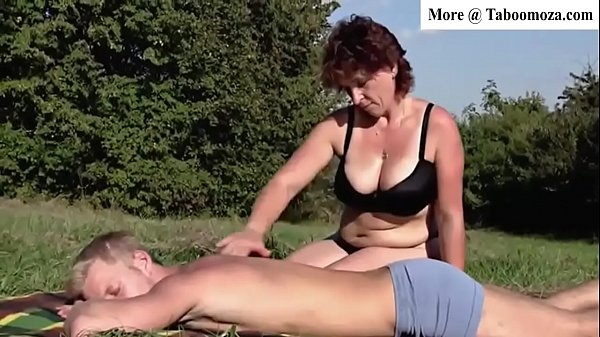 Brunette Mom milf Outdoors