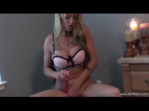 Masturbation in Chair by MILF Mia