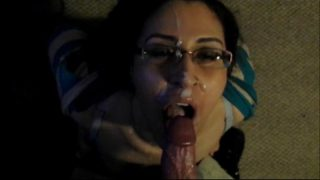 Messy Facial Amateur with Glasses