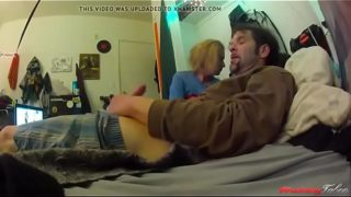 Fucking my drug addict sister-GoPro Sextape